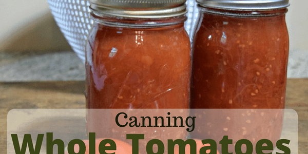 Canning Whole Tomatoes
