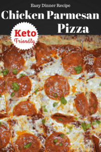 Chicken Parmesan Pizza Keto Friendly Hidden Springs Homestead