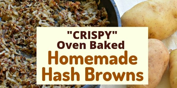 Crispy Homemade Hash Browns