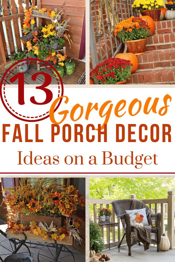 13 Fall Porch Decor Ideas Hidden Springs Homestead