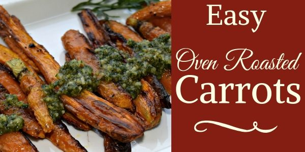 Oven Roasted Carrot Recipe
