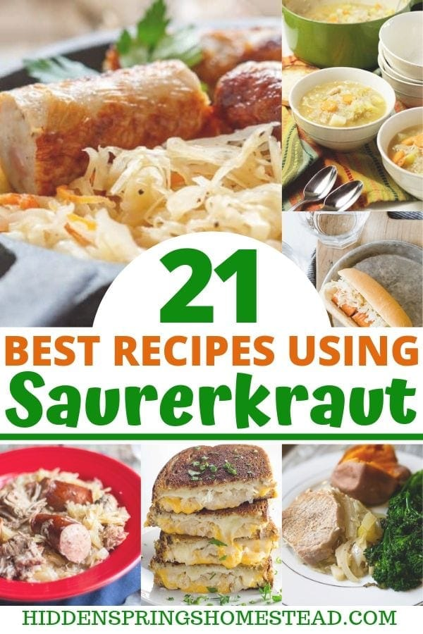 21 Top Rated Delicious Recipes Using Sauerkraut Hidden Springs Homestead