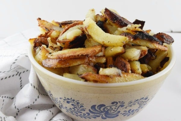 Easy Southern Skillet Fried Potatoes Recipe Hidden Springs Homestead